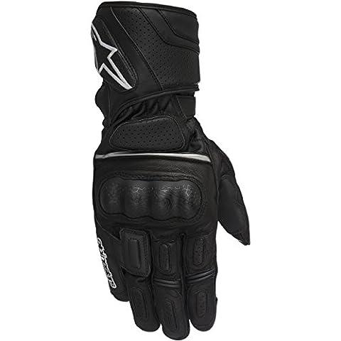 Alpinestars SP-Z Drystar Waterproof Leather Motorcycle Gloves - Black M