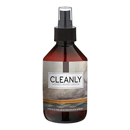Anti Schimmel Spray von CLEANLY | Schimmelentferner Wand 250 ml | Fugenreiniger | Reiniger Alternative zu Bleichmitteln und Chemie | Reiniger & Fugenreiniger