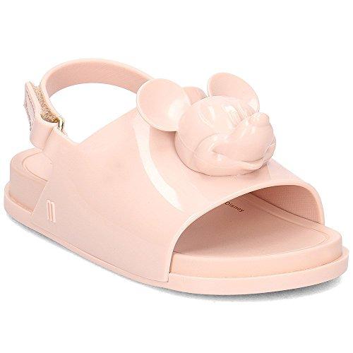 Melissa Mini Disney Beach Slide Plastic Slingback Sandal Blush-Blush-9 Size 9