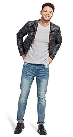 TOM TAILOR für Männer Denim Josh Regular Slim Jeans mid stone wash denim 34/36