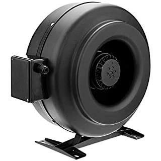PrimeMatik - Rohr Ventilator für 250 mm Durchmesser. Inline Kanalauszieher für die industrielle Lüftung