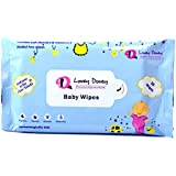 Lovey Dovey Baby Wipes Enriched With Aloevera & Vitamin E (30wipes)