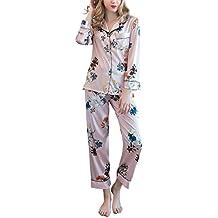 comprare popolare 828ff 0e241 Amazon.it: pigiama con bottoni donna - Rosa