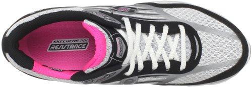 Skechers Prospeed 12415 BKSL, Scarpe da ginnastica donna Nero (Noir/rose)
