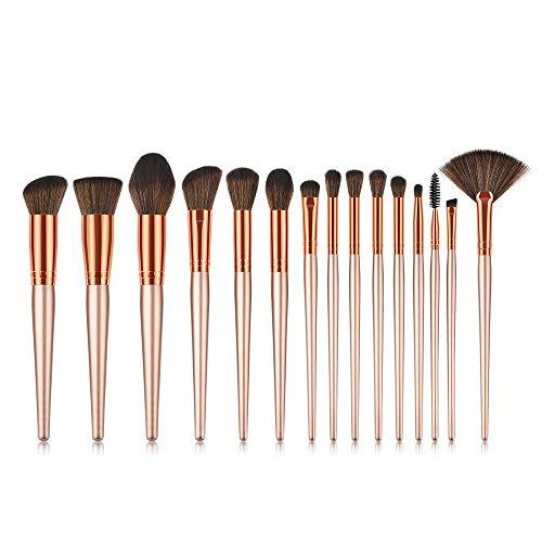 Daysing Make Up Pinsel Set 15 Stücke professionelles Kosmetikpinsel Pinselset Schminkpinsel lidschattenpinsel augen und wangen pinsel beauty tools