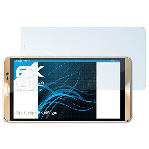atFolix Schutzfolie kompatibel mit Allview P8 eMagic Folie, ultraklare FX Bildschirmschutzfolie (3X)