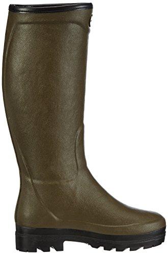Le Chameau Country Ld Fourrée, Boots femme Vert (Vert Chameau)