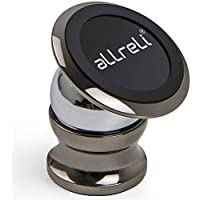 aLLreli Support Voiture Téléphone Aimanté Universel Compatible pour iPhone 7, 7 Plus, 6, 6S, Se, 6 Plus, 6S Plus, Galaxy S7, Note 5 et d'autres Smartphones