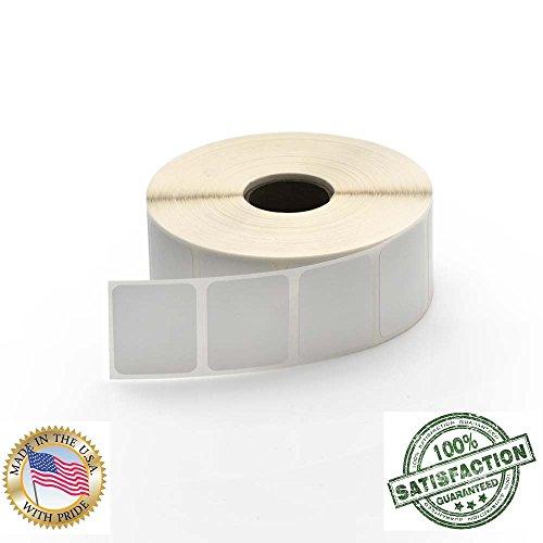 Besteck 1,25x 1(1-1/10,2x 2,5cm) Perforation zwischen Etiketten Direct Thermo Etiketten to Fit Eltron oder Zebra Drucker. 1in. Core, 1,380Etiketten pro Rolle, 6Rollen (Drucker Zebra Etiketten 2x1)