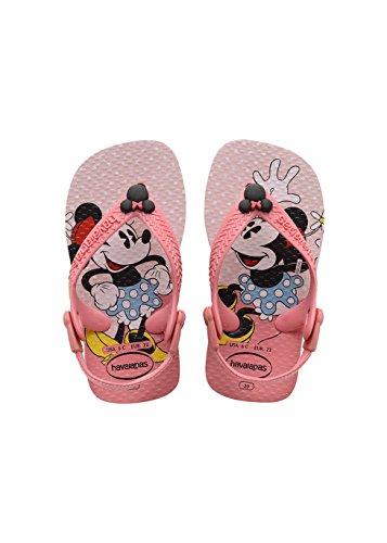 Havaianas Kinder Flip Flops Baby Disney Classics Grösse: 22 EU (20 Brazilian) Rose Zehentrenner für Kinder (Baby Flops Flip)