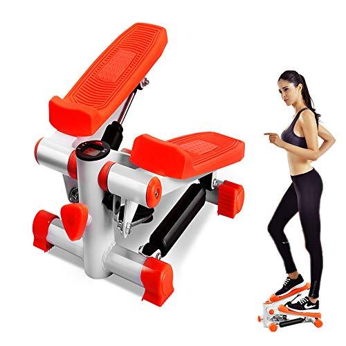 Mini-Stepper-Bein-Trainings-Fitness-Gym-Maschine LCD-Anzeige Einschließlich Trainingsbänder Für Anfänger Und Ausgebildetes, Kleines Und