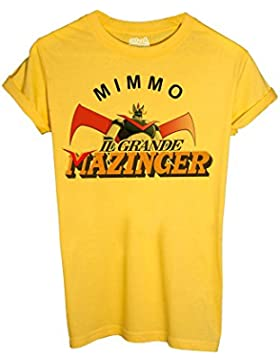MUSH T-Shirt MIMMO Verdone T-Shirt Mazinger by Dress Your Style