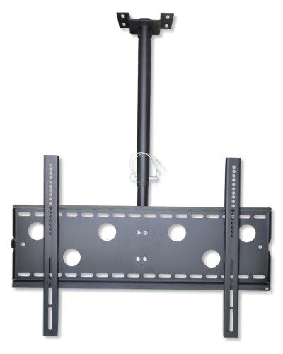 """DMP LCD Deckenhalterung CPLB 102 - Größe L 42-70"""" (106, 7-177, 8cm), max 95kg, neigbar, schwenkbar, höhenverstellbar - schwarz"""