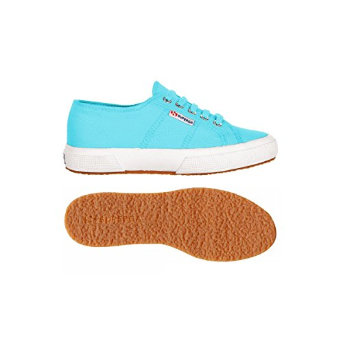 Superga 2750 Cotu Classic, Baskets mixte adulte Multicolore - Turquoise