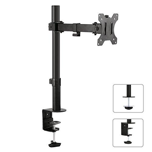 """Maclean MC-752 Tischhalterung Monitorarm 360° 13-32"""" Monitor Halterung LCD LED VESA 75x75 100x100 bis 8kg (2X Gelenke)"""