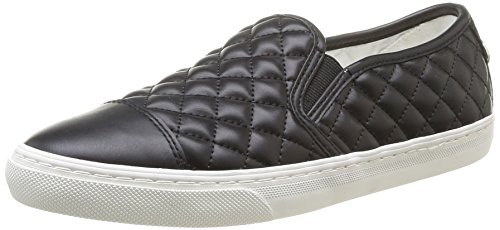 Geox D New Club C Scarpe Low-Top, Donna, Negro (Black), 38