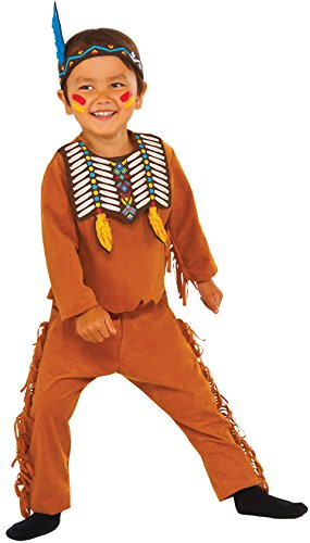 Rubie's Costume Indian Scout Value Child Costume, Small by Rubie's Costume ()