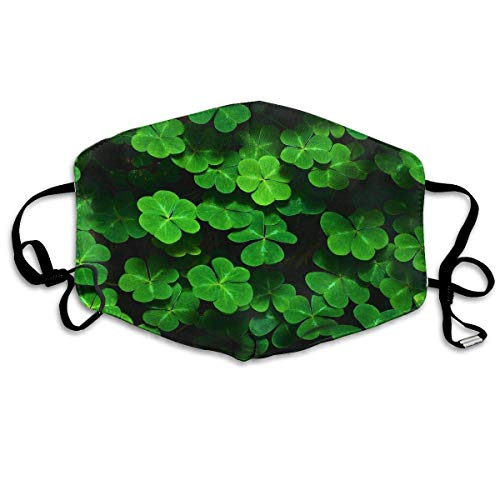 Irish Clover Mouth Mask Dust Gesichtsmaske Washed Reusable Outdoor Activities Windproof