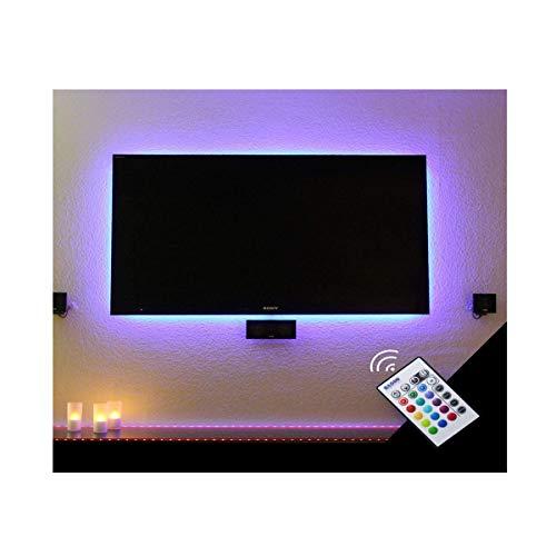 BASON USB LED TV Hintergrundbeleuchtung 60 65 70 75 Zoll Beleuchtung Flachbild Fernseher, TV LED-Leiste
