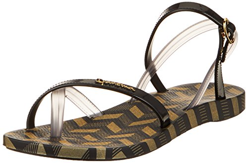 Ipanema Fashion Sand V Fem, Chanclas para Mujer, (Black/Smoke 8889), 40 EU