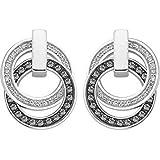 JETTE Silver Damen-Ohrstecker Swing Silber 42 Swarovski-Kristall 54 Zirkonia One Size, silber