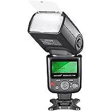 Neewer 750II TTL Speedlite - Flash con schermo LCD per Nikon D7200 D7100 D7000 D5500 D5300 D5200 D5100 D5000 D3300 D3200 D3100 D3000 D700 D600 D500 D90 D80 D70 D60 D50 e altre Fotocamere DSLR Nikon
