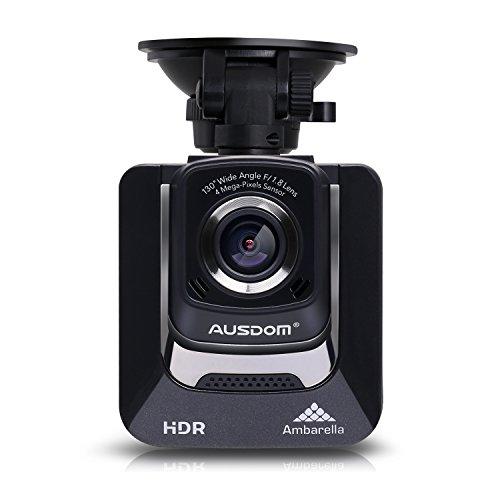 AUSDOM AutoKamera Auto Dashcam 1296P FHD DVR 130 ° Weitwinkel G-Sensor Bewegungserkennung Nachtsicht Recording