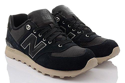 New Balance 574, Baskets Homme Noir (Black_VAI) 41.5 EU