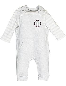 SALT AND PEPPER Baby-Jungen Strampler NB Playsuit Bear Uni Tasche