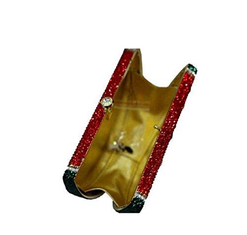 Diamanten Luxus Damen Handtaschen Abendtaschen OneColor S6xxg