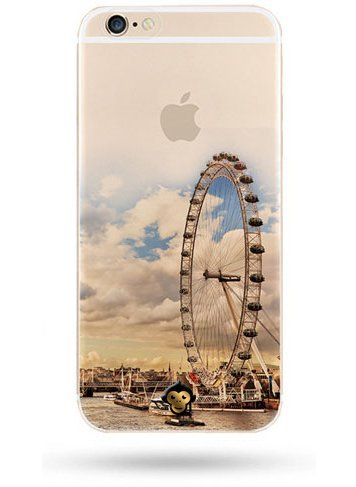 Monkey Cases® London Eye-Coque de protection pour iPhone-Cover-Angleterre-UK # 2