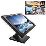 "SENDERPICK - Monitor touchscreen LCD da 17"", per computer VGA, USB, per ristorante, bar, caffè, donut store, menu"