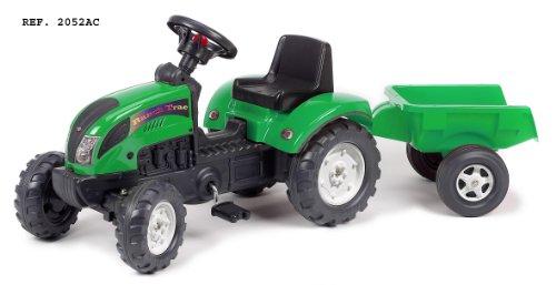 Falk - 2052AC - Ciclismo e veicoli per bambini - Trattori - Trailer Ranch Trac