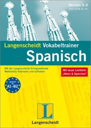 Langenscheidt Vokabeltrainer 5.0 Spanisch. Windows 7; Vista; XP; 2000: Mit der...