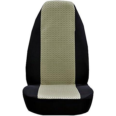 Copri Sedile anteriore auto universale Classic poliestere Sandwich panno Sedile Coperchio di protezione