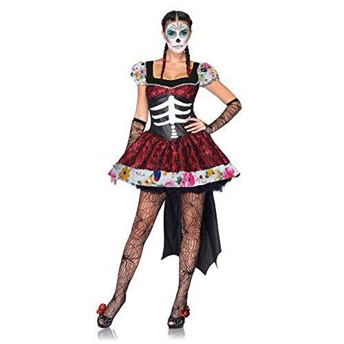 rmance Uniformen, Horror Kostüme, mexikanischen Tag der Toten Festival Kostümball, Geisterbraut Kostüme ()