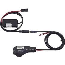 BMW - Adaptador de Bluetooth (Cable E39 E46 E53 X5 AUX, Conector BM54,