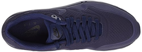 Nike Air Max 1 Ultra Moire Herren Sneakerss Blau (Midnight Navy/Mid Navy-Blk)
