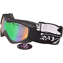 Rayzor - Gafas de esquí y Snowboard (antivaho 4271a6dc9a0f