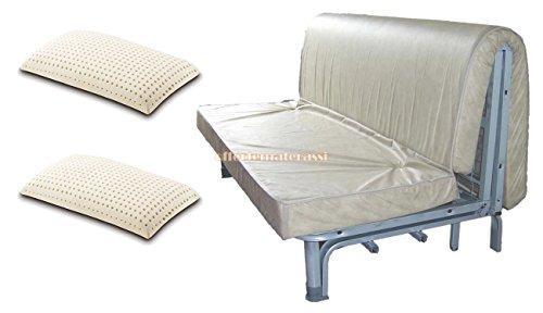 Materasso per divano letto 160x190 prontoletto con piega - Materassi per divano letto su misura ...