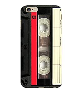 ColourCraft Retro Audio Cassette Design Back Case Cover for APPLE IPHONE 6 PLUS