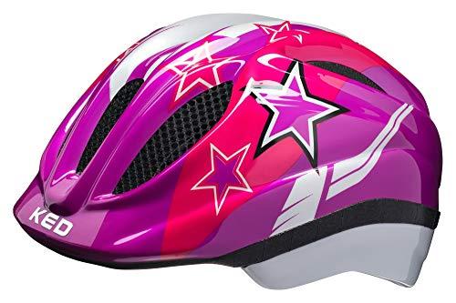 KED Meggy Helmet Kids Violet Stars Kopfumfang S | 46-51cm 2019 Fahrradhelm