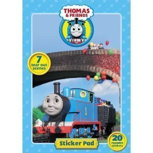Thomas the Tank Engine Sticker Pad by Alligator Books