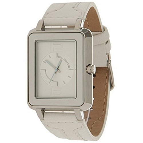 Custo Watches CU027601 - Reloj de Señora Cuarzo Piel Blanco