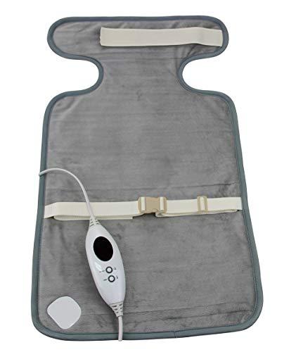 Ardes ar4h02 termoforo per schiena spalle e cervicale cuscino termico in soffice microfibra con velcro di chiusura riscaldamento rapido