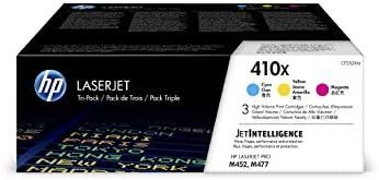 HP 410X (CF252XM) Multipack Original Toner (Blau, Rot, Gelb) mit hoher Reichweite für HP Color Laserjet Pro M452, HP Color Laserjet Pro M477