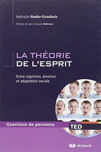 La théorie de l'esprit entre cognition, émotion et adaptation sociale