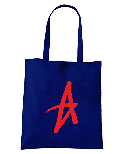 T-Shirtshock - Borsa Shopping FUN0561 altamont a logo 20053 Blu Navy