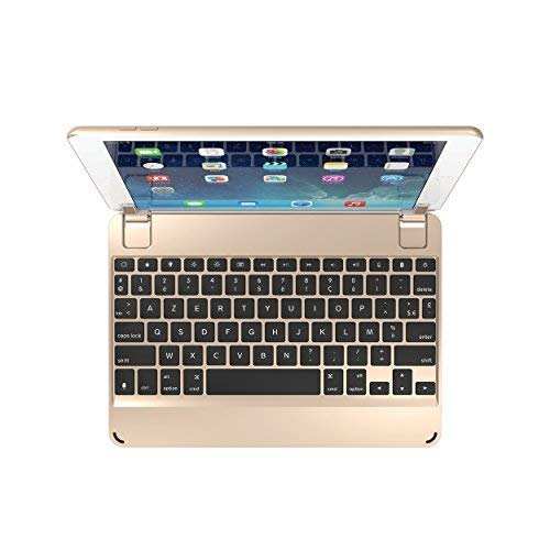 Brydge 9,7 AZERTY Bluetooth Tastatur Apple iPad 9,7, Pro 9,7, Air 1 & 2 (Ipad Mini Clam)