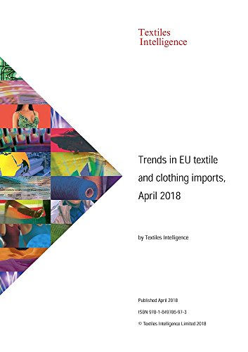 Trends in EU textile and clothing imports, April 2018 (April Kostüm)